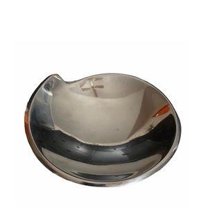 Nambe Silver Decorative Silver Dish